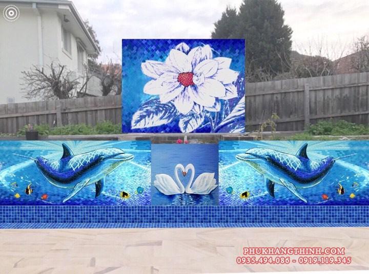 Tranh mosaic đẹp nhất hiên nay