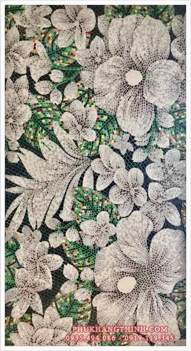 tranh mosaic gốm màu đẹp